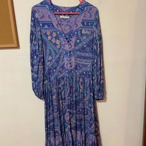 Beautiful Spell and the Gypsy gown SZ XXS